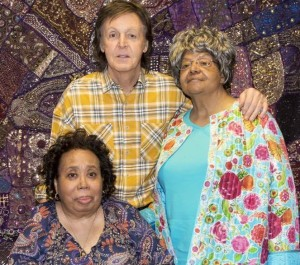 Incredible to meet two of the Little Rock Nine--pioneers of the civil rights movement and inspiration for Blackbird. pic.twitter.com/QrnOQnqrFX—Paul McCartney (@PaulMcCartney) May 1, 2016