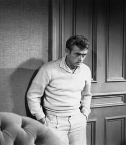 James Dean in La valle dell'Eden, di Elia Kazan (1955)