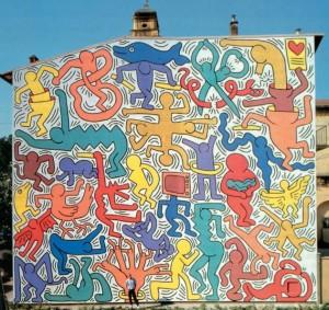 "Keith Haring, ""Tuttomondo"""