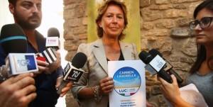 Basilicata: Carmen Lasorella, 'scendo in partita con Luci'