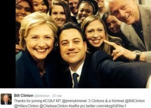 selfie_clinton_kimmel